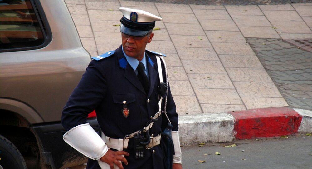 Un officier de police, Maroc