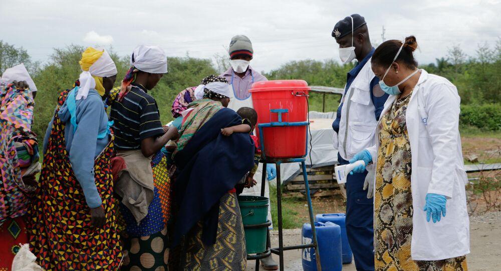 Burundi, lavage des mains contre le Covid-19