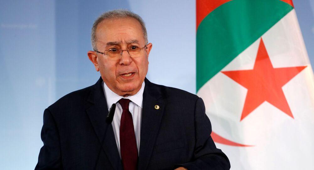 Ramtane Lamamra, ancien vice-Premier ministre, ancien ministre des Affaires étrangères, diplomate algérien.