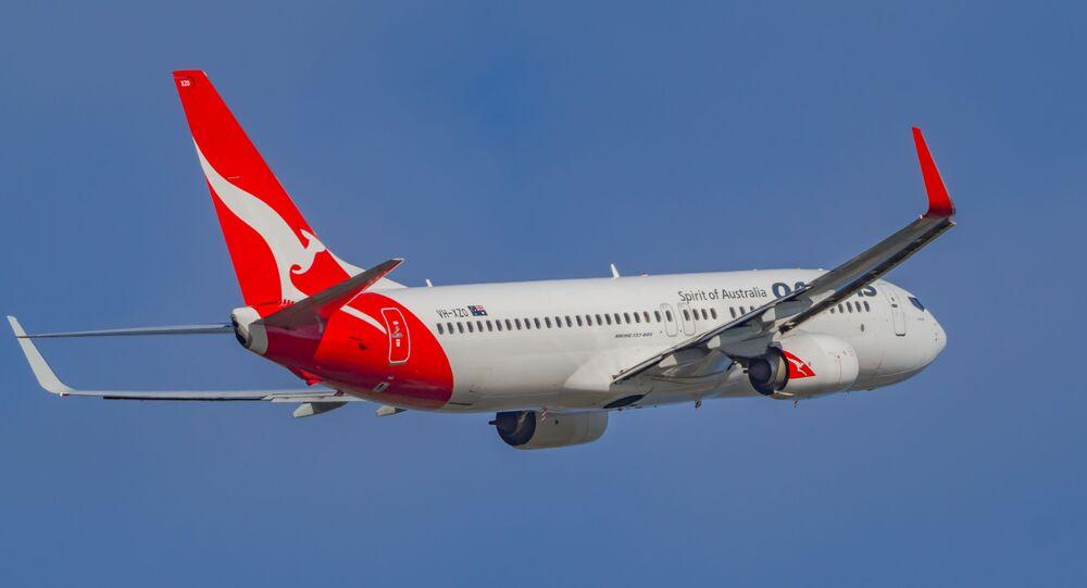 Un Boeing 737-800 de Qantas