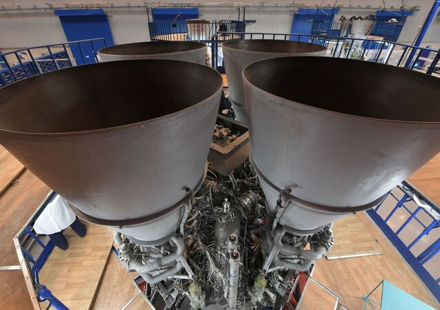 Moteur de fusée russe RD-180