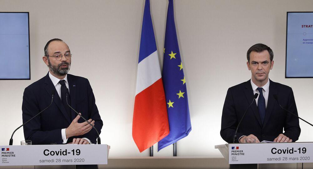 Édouard Philippe et Olivier Véran (photo d'archives)