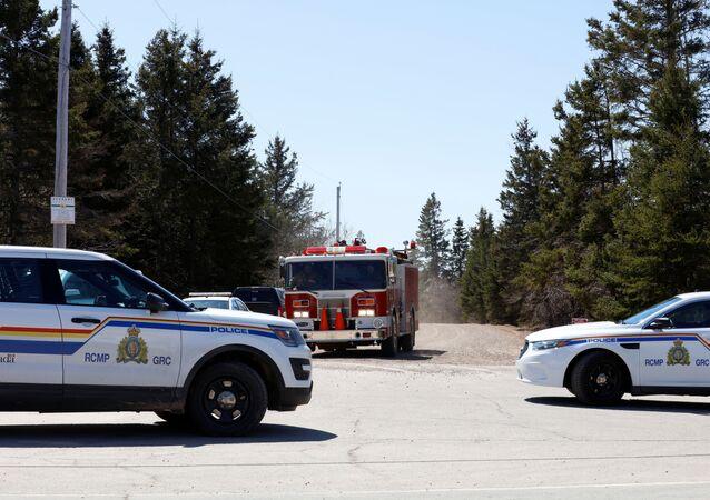 La police canadienne recherchant Gabirl Wortman, le tireur présumé