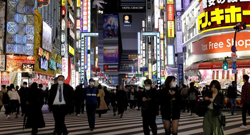 Tokyo, pendant l'épidémie de coronavirus