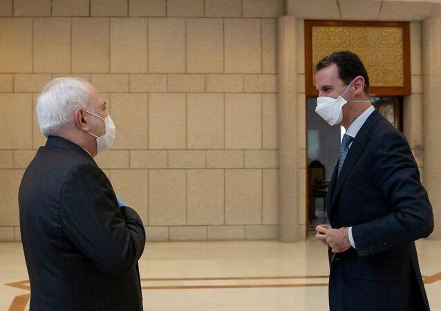 Le Président syrien reçoit le chef de la diplomatie iranienne à Damas