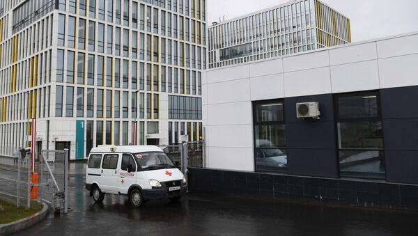 L'hôpital de Kommounarka à Moscou - Sputnik France