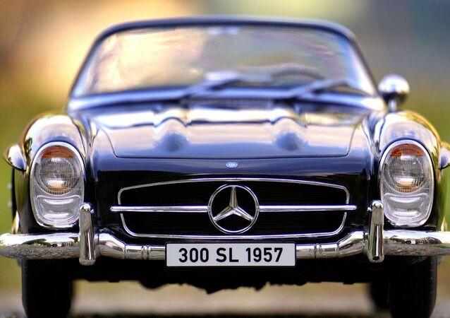 Une Mercedes 300 SL
