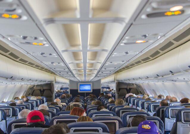 Dans un avion