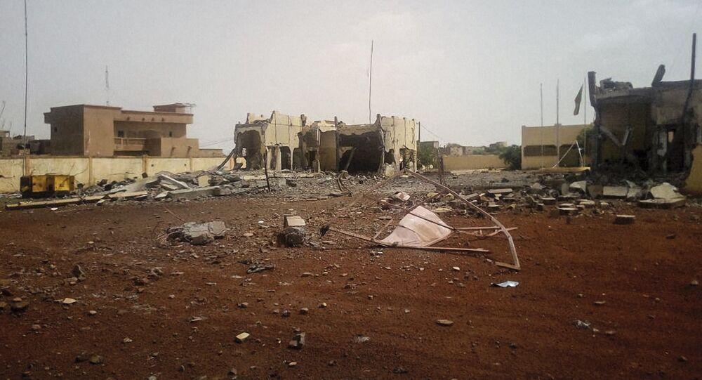 Une attaque terroriste a ravagé le quartier général malien de la force du G5 Sahel, le 29 juin 2018.