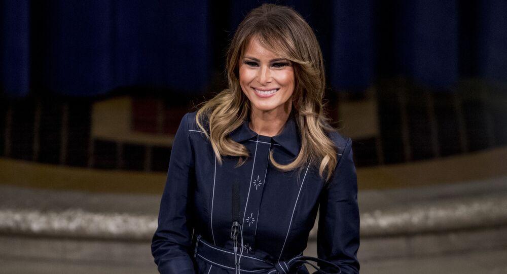 Melania Trump le 6 mars 2020