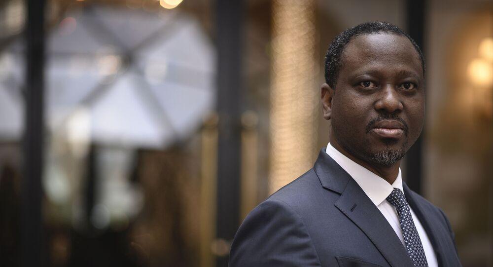Guillaume Soro, candidat à l'élection présidentielle ivoirienne.