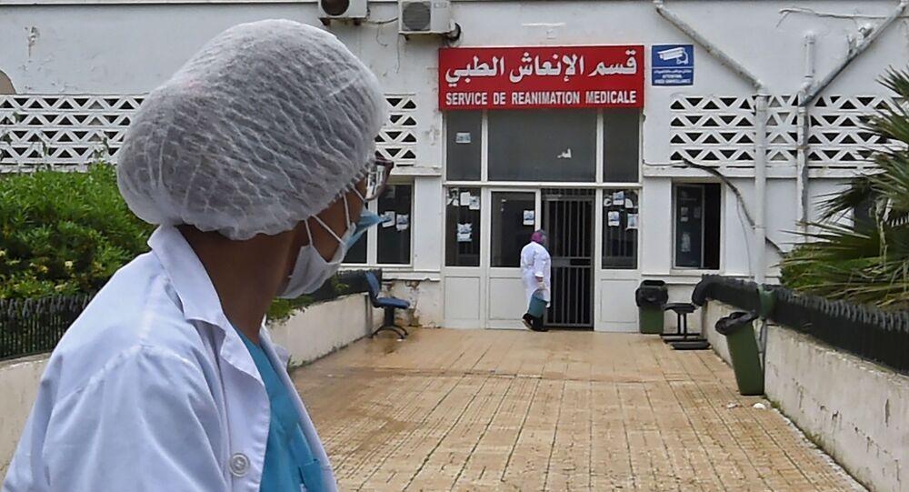 L'hôpital d'Ariani, près de Tunis, Tunisie