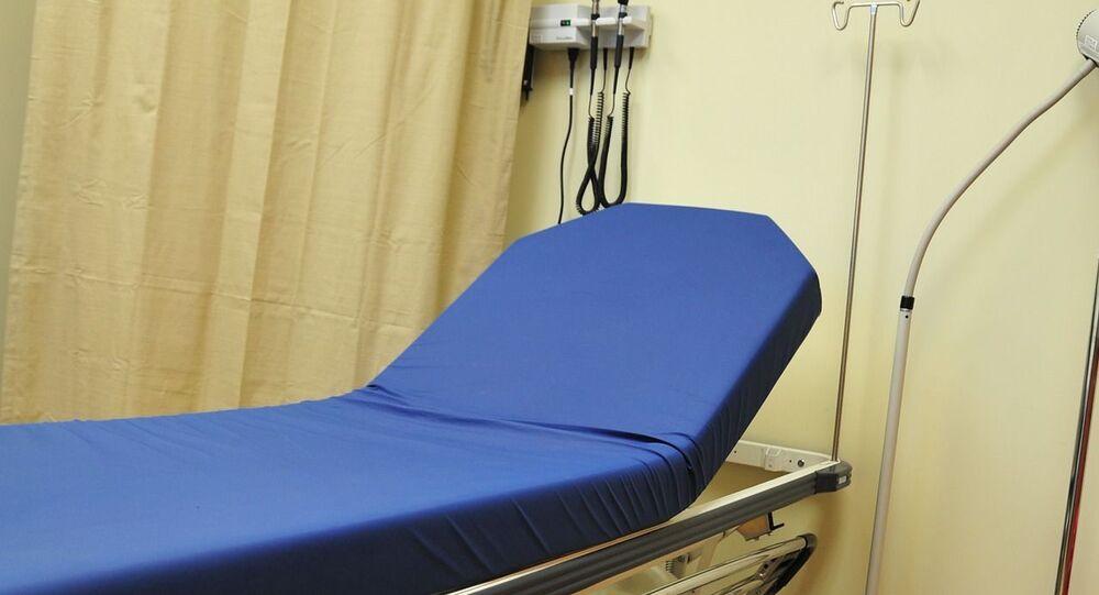 Un lit d'hôpital (image d'illustration)