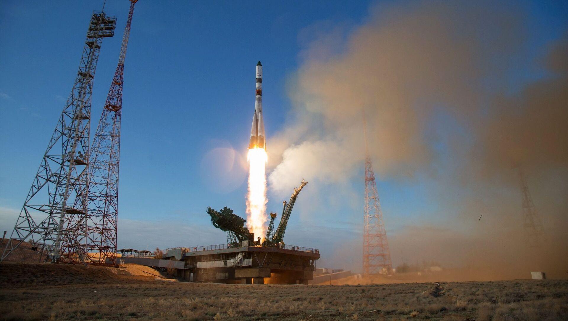 Décollage du lanceur Soyouz-2.1a vers l'ISS, 25 avril 2020 - Sputnik France, 1920, 31.08.2021