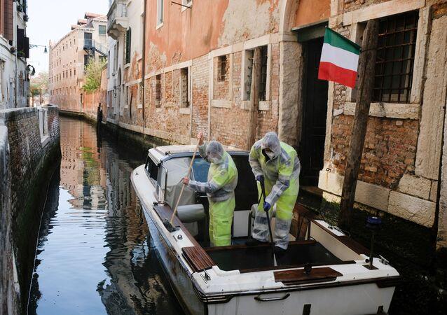 Situation à Venise dans le contexte du coronavirus