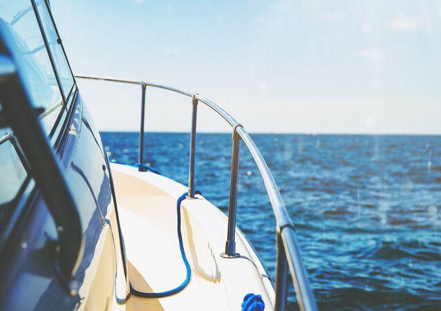 Voyage en mer (image d'illustration)