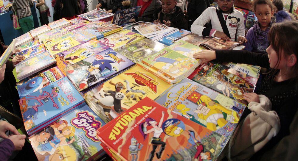 Des bandes dessinées (image d'illustration)