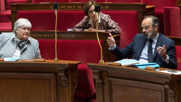 Le Premier ministre Édouard Philippe à l'Assemblée nationale (illustration). - Sputnik France
