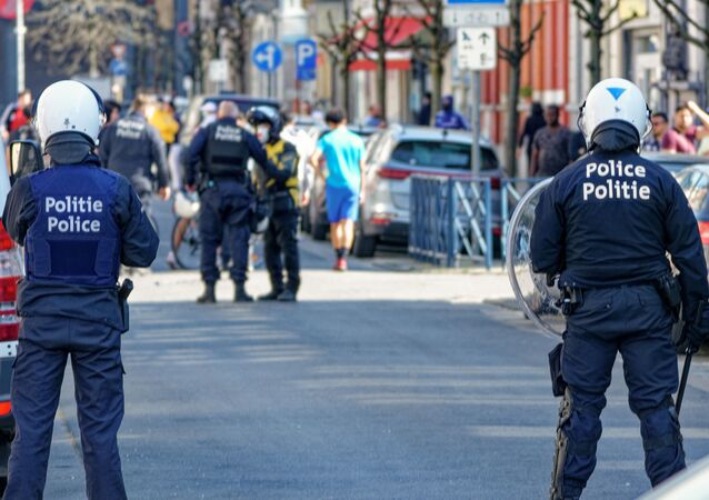 Des policiers belges (image d'illustration)