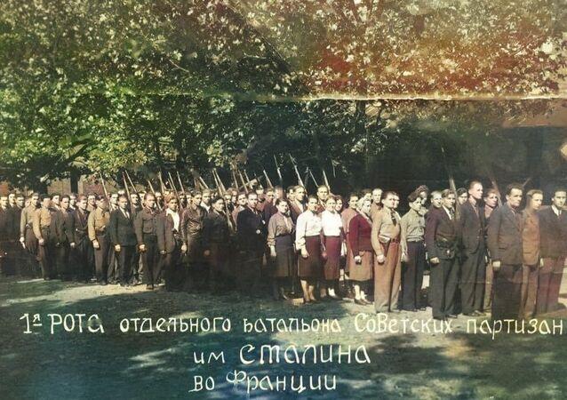 Le bataillon soviétique de résistants au nom de Staline, créé par Vassili Porik