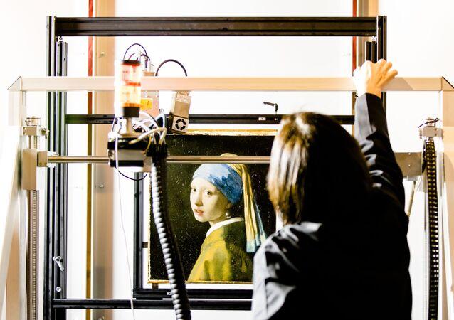 «La jeune fille à la perle» de Vermeer