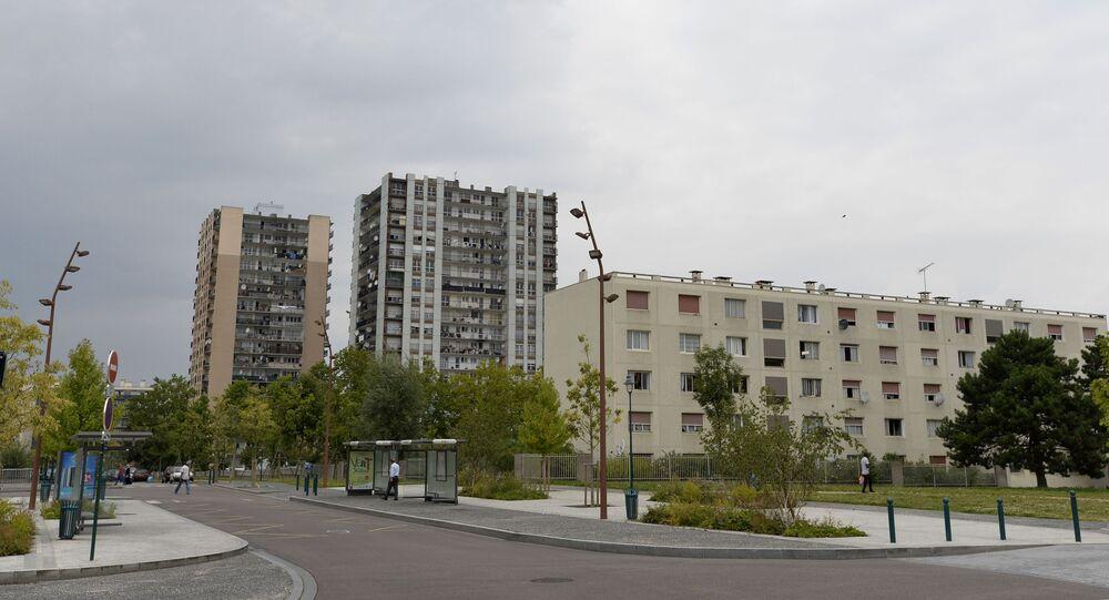 le quartier du Val-Fourré à Mantes-la-Jolie