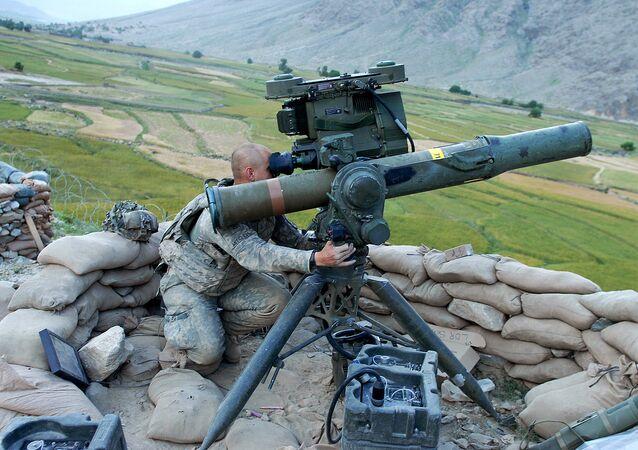 Un lance-missile TOW (image d'illustration)