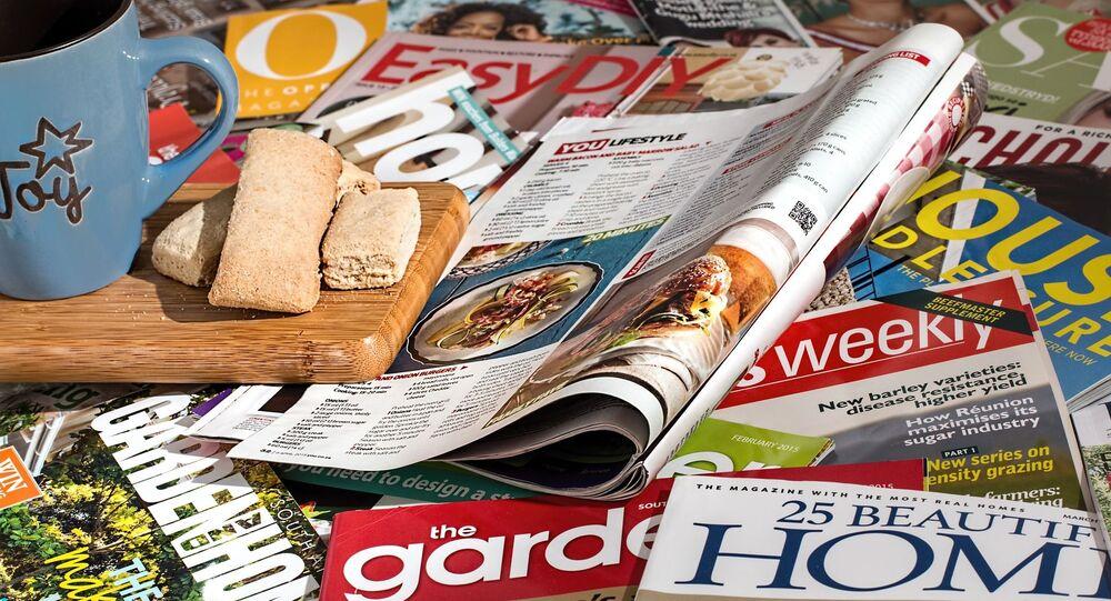 Des magazines, image d'illustration