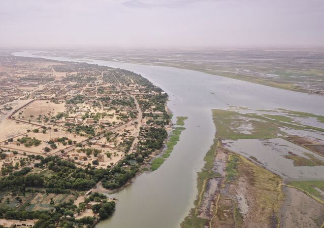 La rivière Niger près de Gao, dans le nord du Mali.
