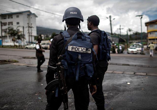 Les forces de défense camerounaises.