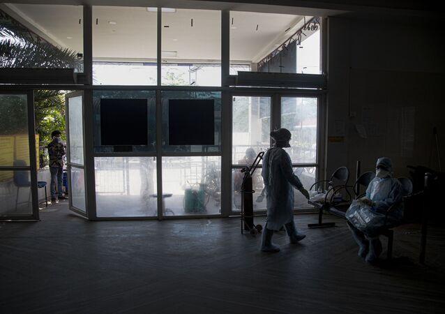 Un hôpital en Inde