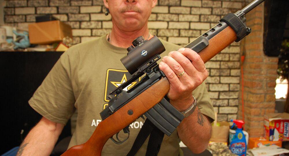 Un fusil Ruger Mini-14 (archive photo)