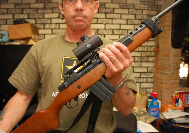 Un fusil Ruger Mini-14 (archive photo)