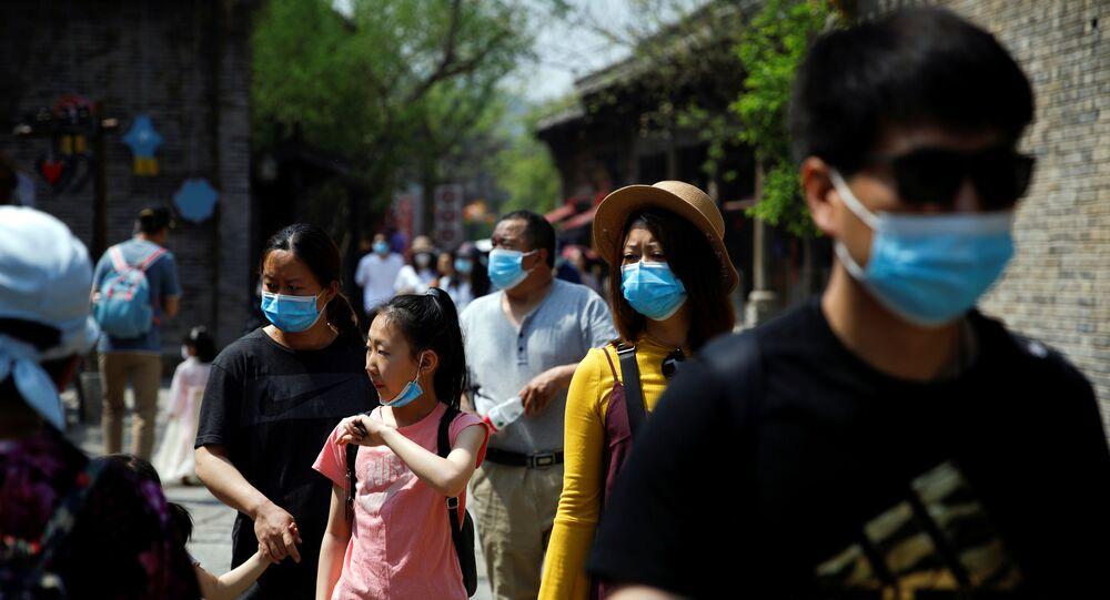 Pékin, le 1er mai 2020