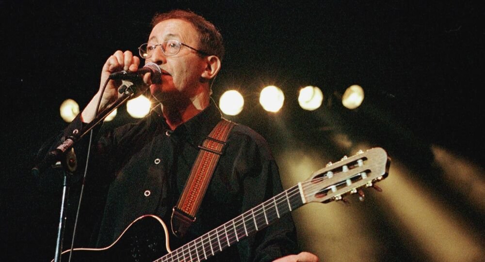 Le chanteur algérien Idir