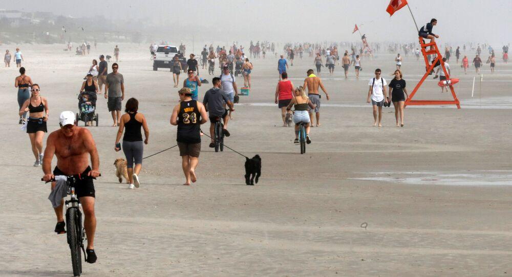 Une plage en Floride