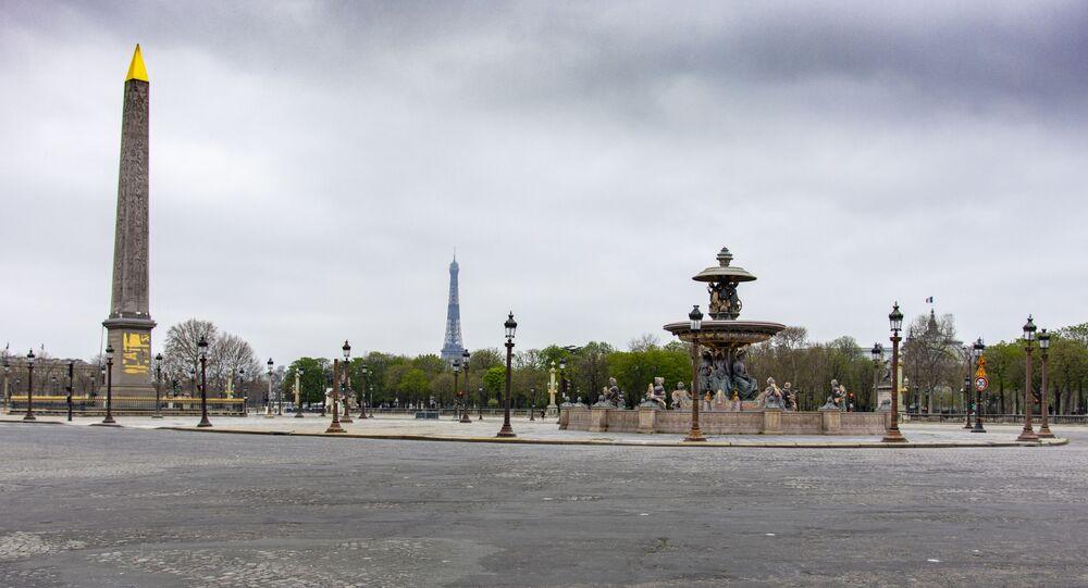 Paris lors du confinement, photo d'archives