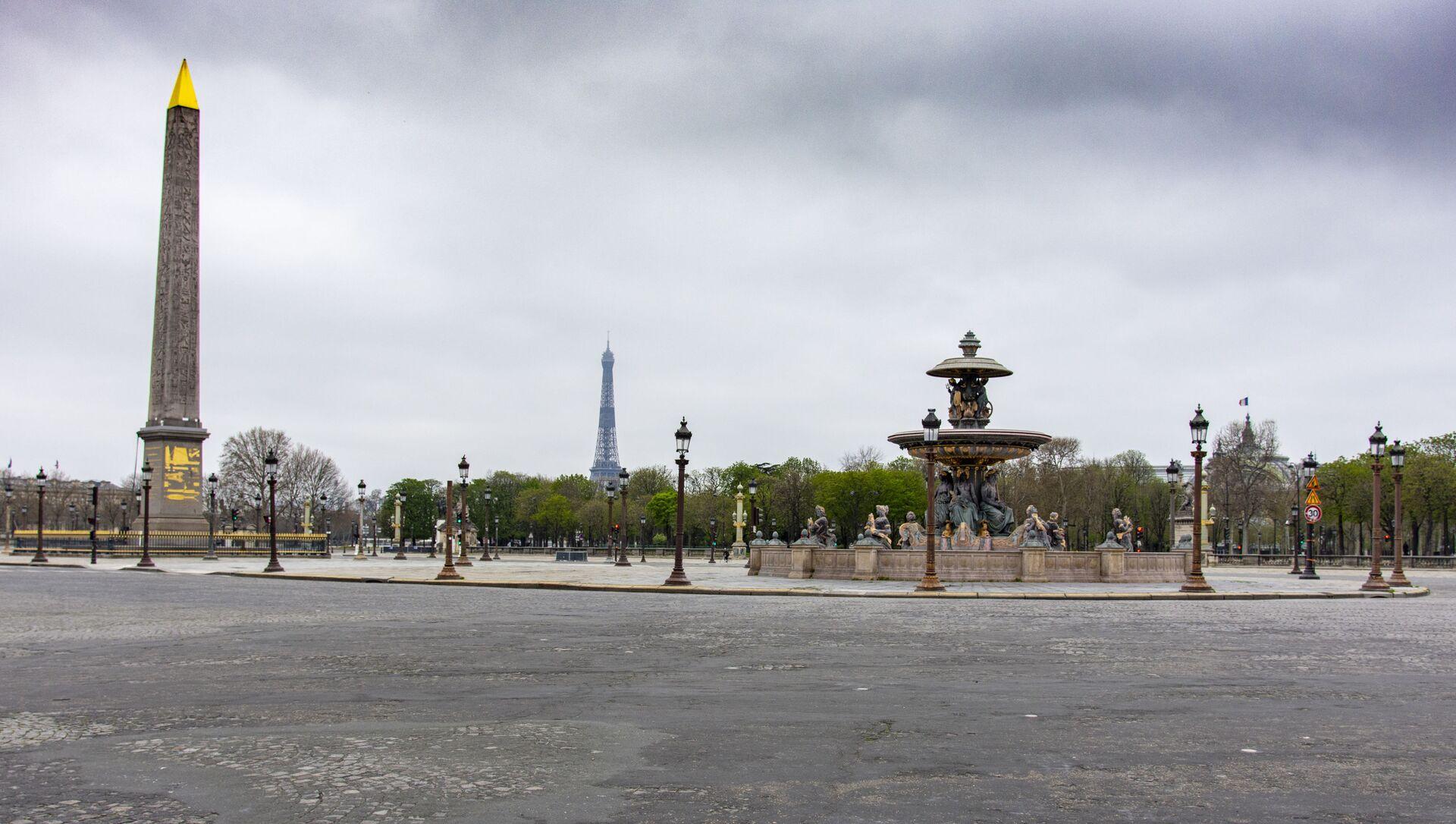 Paris lors du confinement - Sputnik France, 1920, 20.03.2021