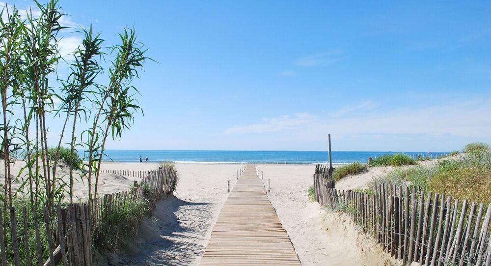 Une plage à Carnon