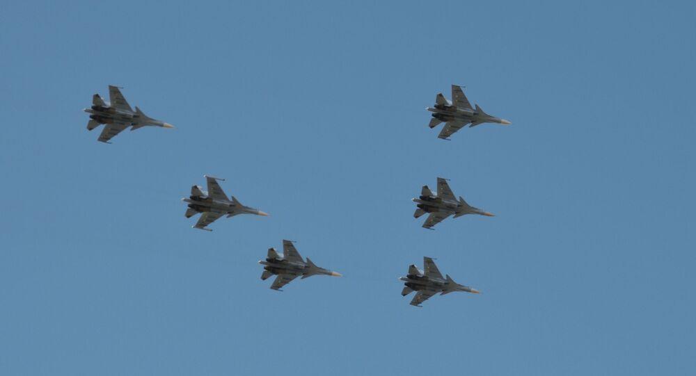 Des avions d'assaut du District militaire Sud