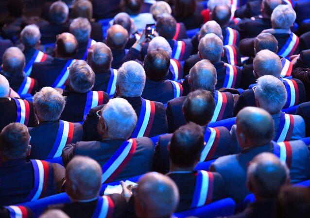 Les assises des maires de Bretagne à Saint-Brieuc en avril 2019  (image d'illustration)