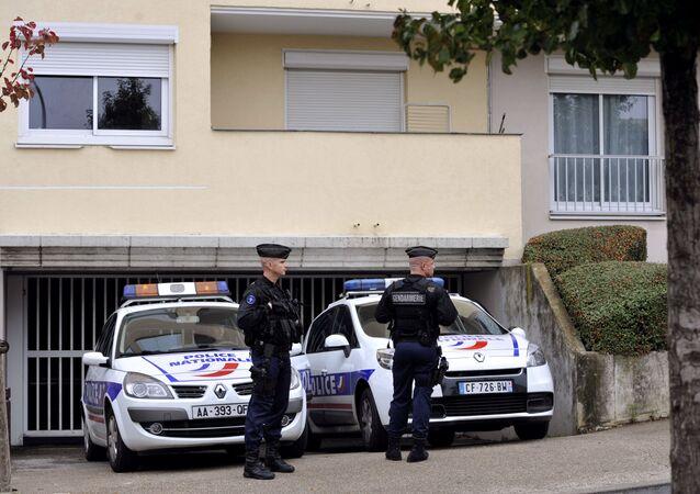 Des policiers à Torcy (image d'illustration)
