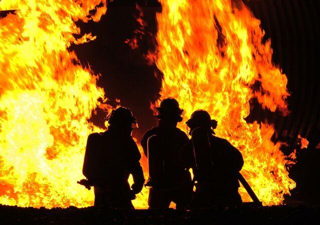 Des soldats du feu