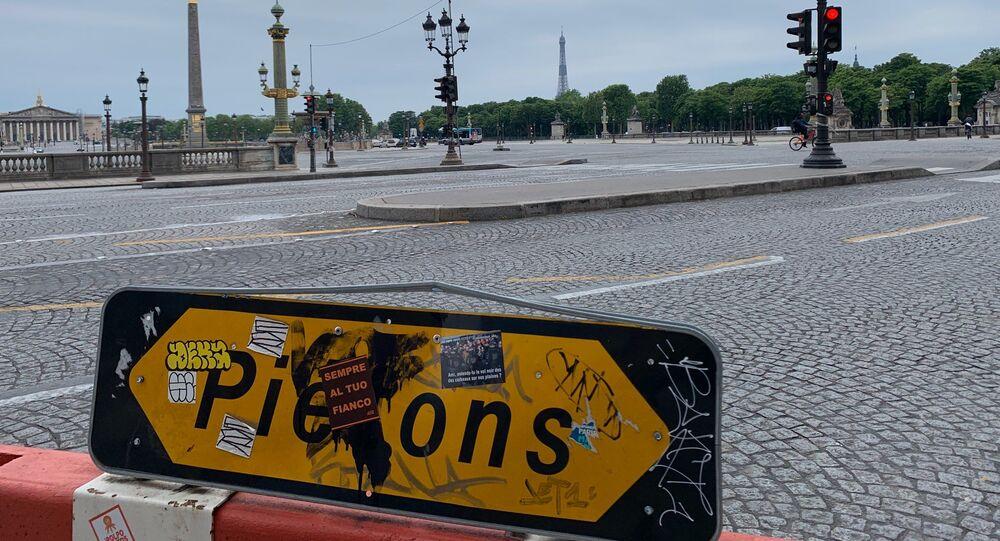 Paris lors du confinement, 5 mai 2020