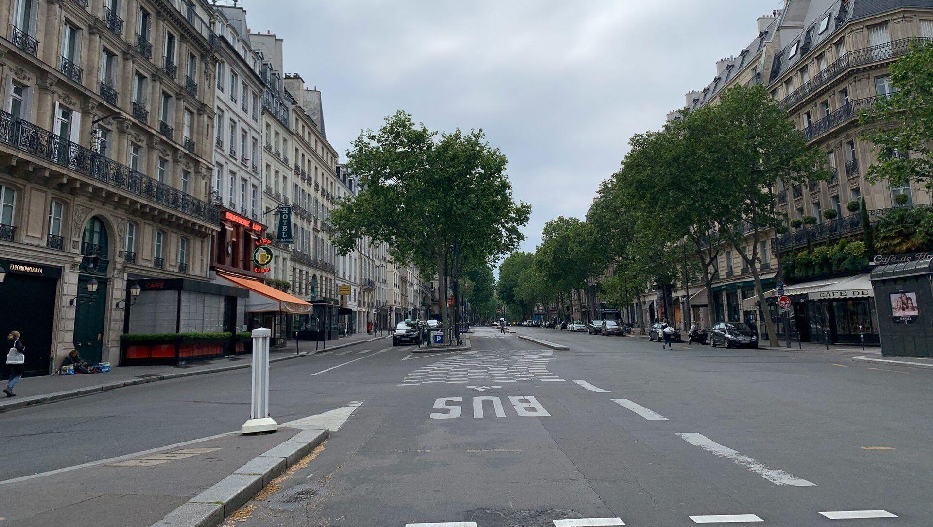 Paris lors du confinement, 5 mai 2020 - Sputnik France, 1920, 26.02.2021