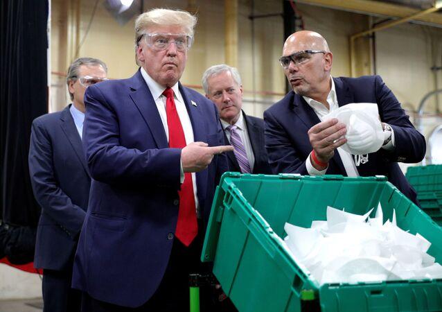 Donald Trump à l'usine Honeywell