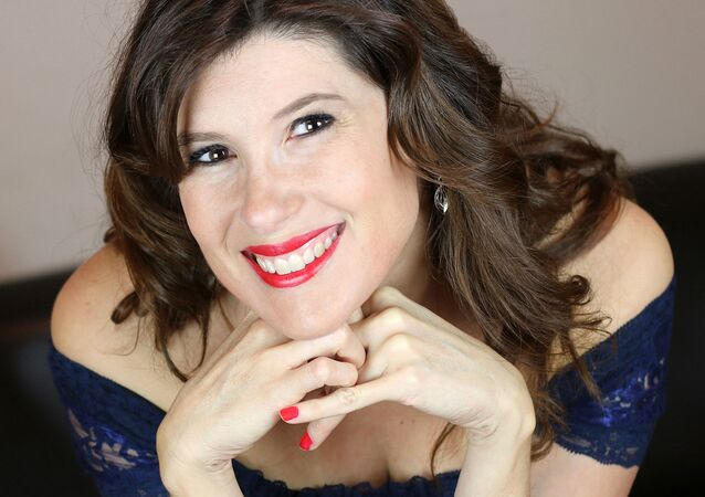 La chanteuse Christelle Loury