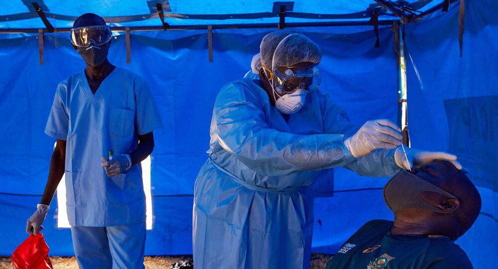 Dépistage de coronavirus dans le Soudan du Sud