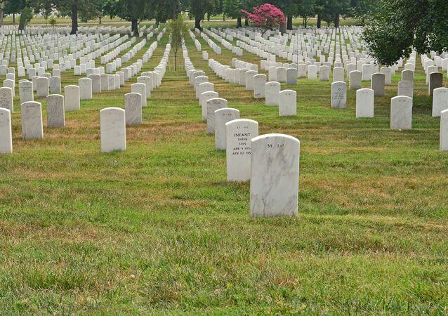 Un cimetière américain