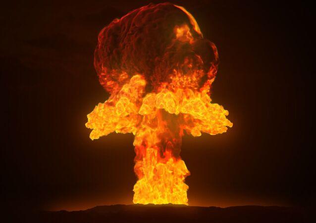 Une explosion nucléaire